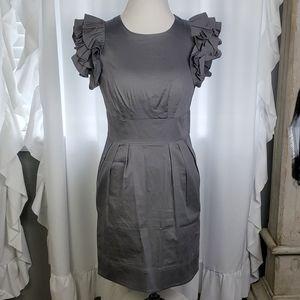 JESSICA SIMPSON CASUAL GRAY DRESS